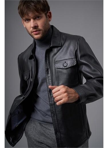 Deri Company Ceket Siyah